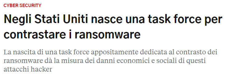 Task Force Ransomware